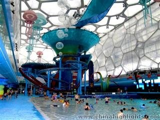 Water Amusement Park at Water Cube