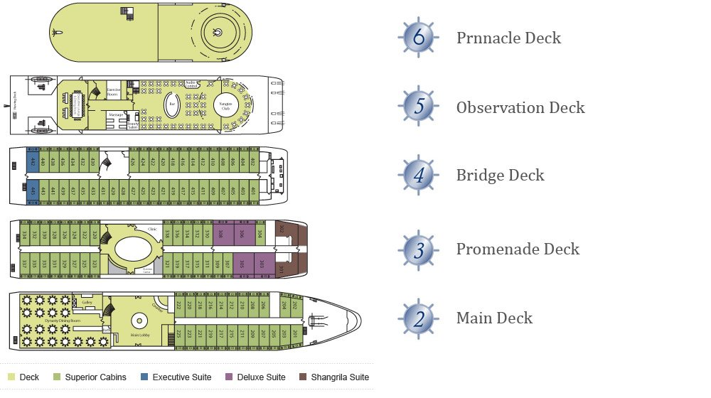 Victoria Grace Deck Plan