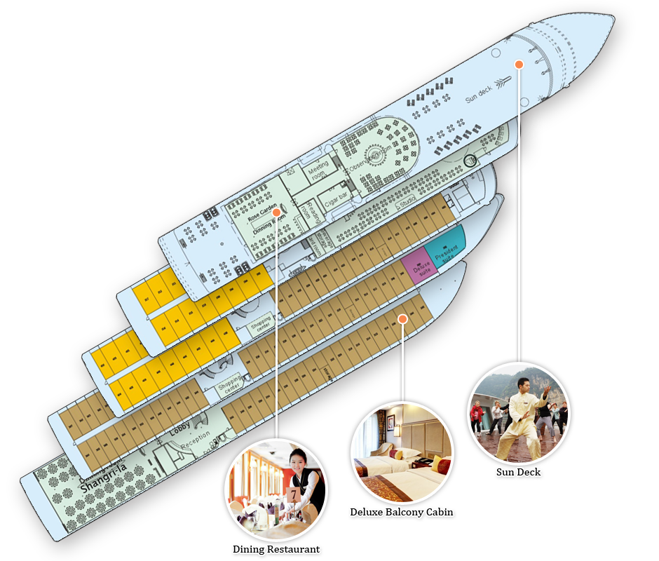 president 6 deck plan