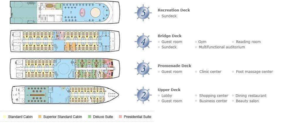 CH Victoria Deck Plan