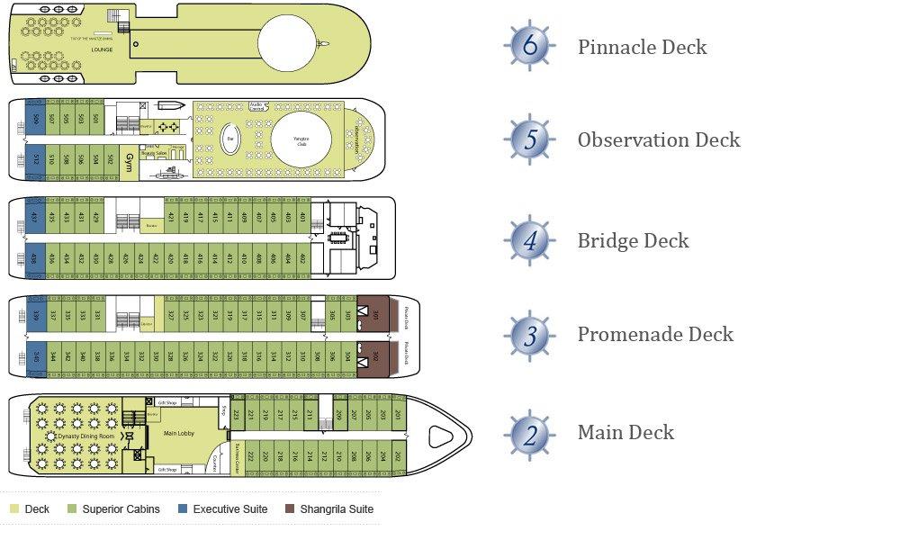 Victoria Lianna Deck Plan