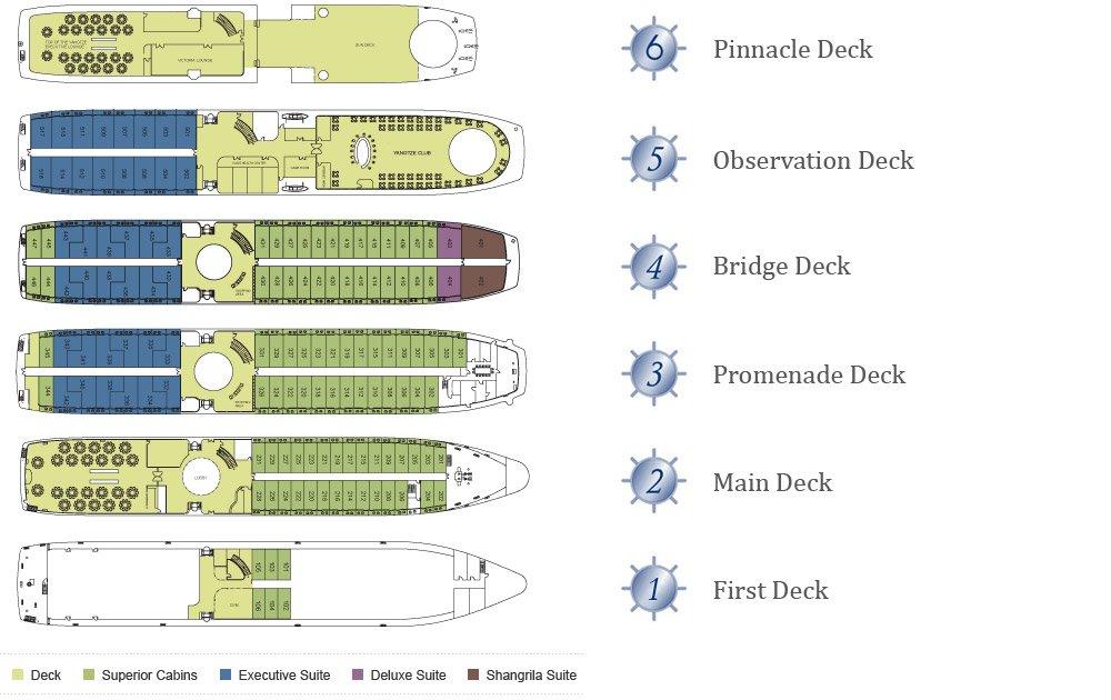 Victoria Anna Deck Plan