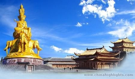Emei Mountain with Yangtze River Tours